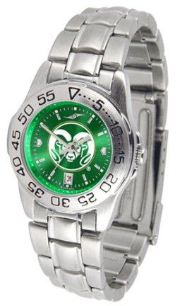 Suntime ST-CO3-CSR-SPORTLM-A Colorado State Rams-Ladies Sport Steel AnoChrome Watch