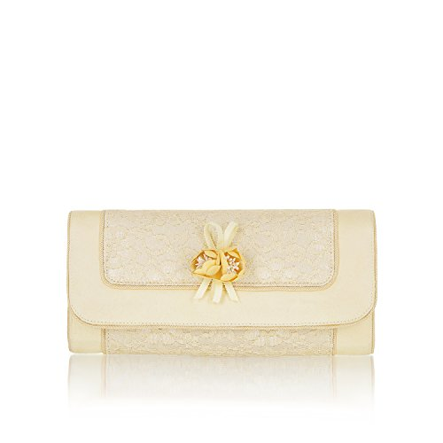 Ruby Shoo Women's Genova Clutch Bag Lemon