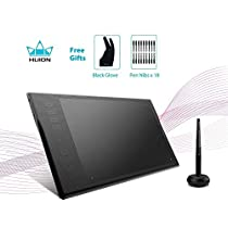 Huion Wireless 5080LPI Professional Graphics Drawing Pen Tablet