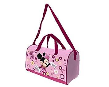Atosa-33171 Disney Bolsa de Deporte Niña, Color Rosa (33171