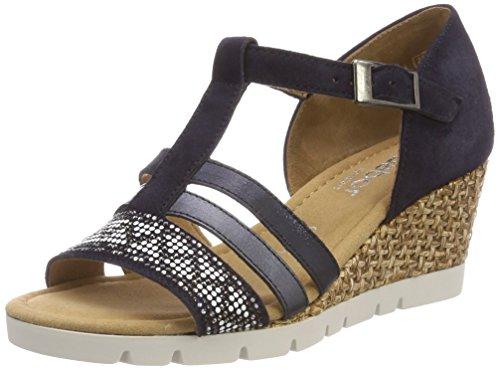 Shoes Gabor Sport Comfort para con Pulsera Sandalia Azul Atlantik Mujer Grata PdqUdgwaf