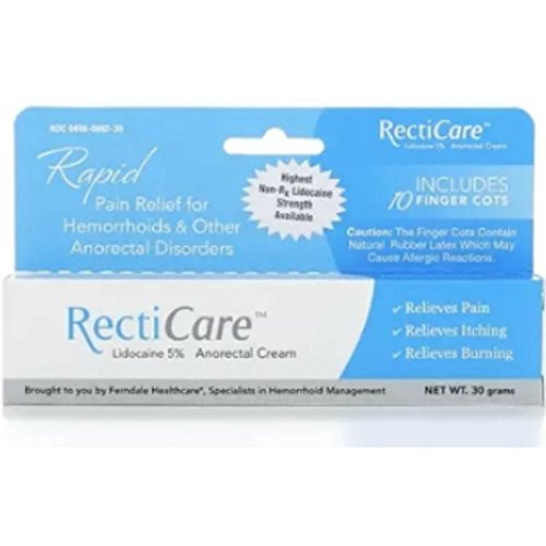 Recticare Anorectal Cream 1 Oz (Pack of 2)