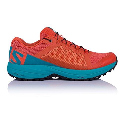 Salomon XA Elevate Running Shoe - Womens Nasturtium/Blue Bird/Black