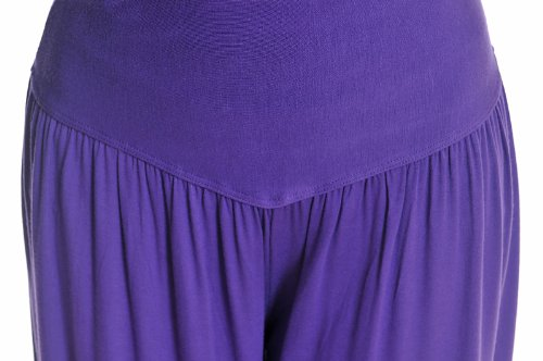 Genuino 95% Modal Deportivo Ropa Suave Mujer Yoga ropa bombachos pantalón negro
