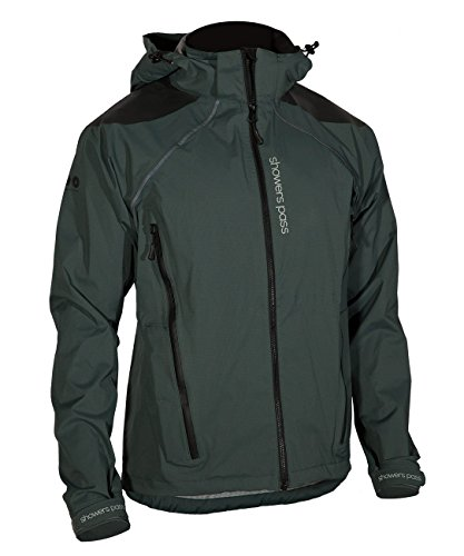 Jackets Cycling Technical Mens (Showers Pass Men's IMBA Waterproof/Breathable Hard Shell Cycling Jacket)
