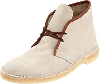 Clarks Men's Desert Boot,Off White Nubuck/Brown,7.5 M US (B0058ZNU68) | Amazon price tracker / tracking, Amazon price history charts, Amazon price watches, Amazon price drop alerts
