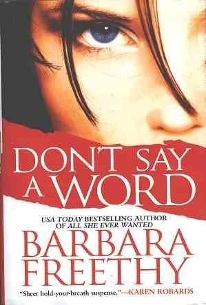 book cover of Don\'t Say a Word