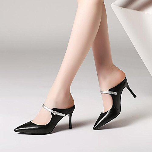 bianco Sandals High Ye Black The Summer 8 Nero Ms 5cm Sandali Heels Colorblock HqwEwTv4