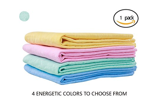 Pet Towel with Dry Fast Absorbent Cotton Fibre Soft Bath Towels for Dogs&Cats(GREEN) - 26