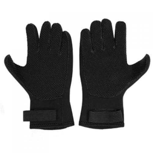 SODIAL(R) Scuba divers wave sailor Black Gloves (Scuba Diver Waves)