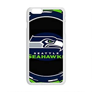 Cool Painting Seattle Seahawks Brand New And Custom Hard Case Cover Protector For Iphone 6 Plus