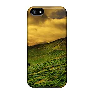 Durable Case For The Iphone 5/5s- Eco-friendly Retail Packaging(beautiful Dark Mountain Scape)