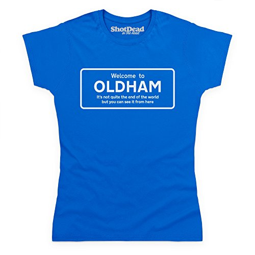 Not Quite The End Of The World - Oldham Camiseta, Para mujer Azul real