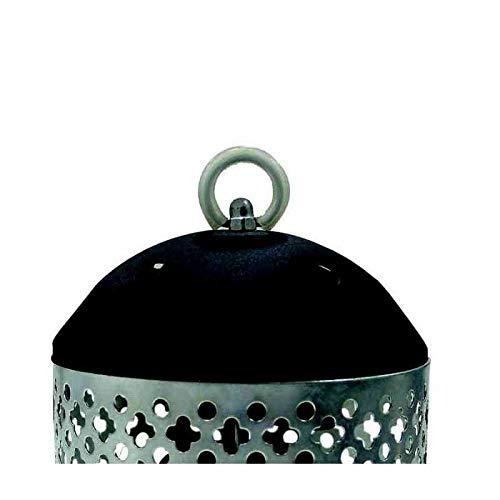 Bastilipo Estufa piña, Metal, Negro y Gris, 20x15x15 cm, 600: Amazon.es: Hogar
