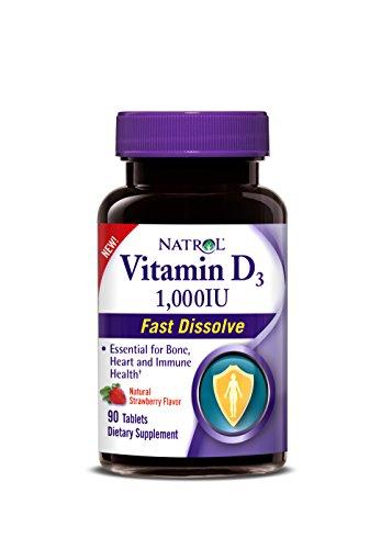 Natrol Vitamin Dissolve Tablets Count
