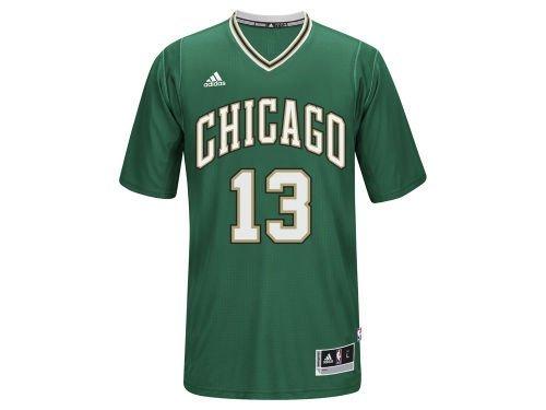 separation shoes 999ff 3af8d Amazon.com: Joakim Noah #13 Chicago Bulls NBA Adidas Green ...