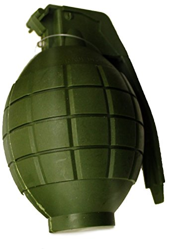 Army Grenade - Kids Army Toy Green Hand Grenade - with Flashing Light & Sound - Role Play [Toy]
