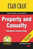 Property and Casualty Insurance License Exam Cram (Paperback)--by Jeff Riley [2004 Edition]