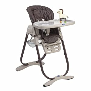 Chicco polly magic highchair tobacco baby - Chicco chaise haute polly magic ...
