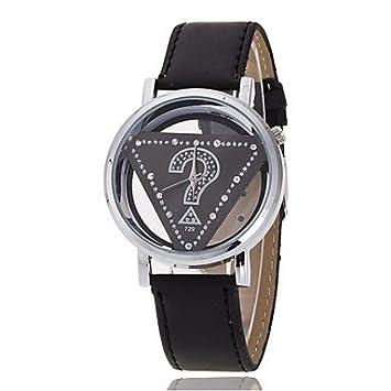 Bellos Relojes, las mujeres de la PU banda de cuarzo reloj de pulsera de imitación