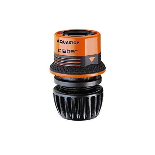 'Claber d85450000–Raccordo AquaStop 1/2–5/8GardenLife Blister
