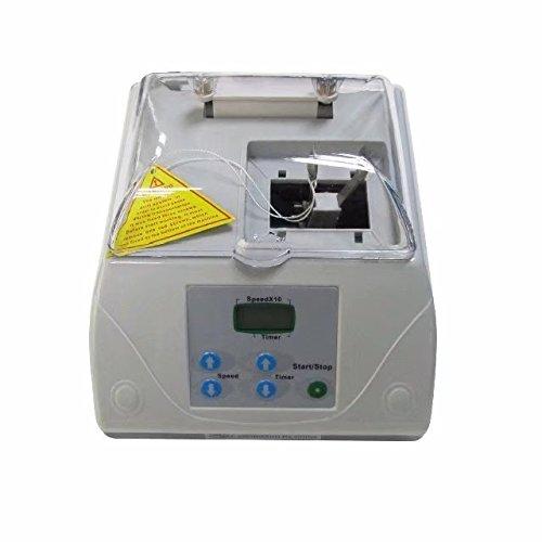 (Dental High Speed Amalgamator HL-AH G8 Amalgam Capsule Mixer Blender Gray by Purple-Violet)