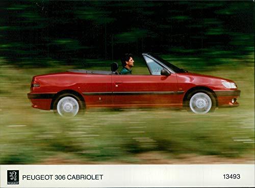 (Vintage photo of Peugeot Motor car: 306 cabriolet.)