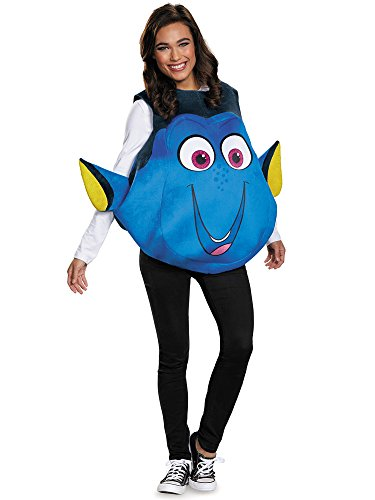 Disney Finding Nemo Deluxe Kids Costumes - Disney Women's Finding Dory Costume  Blue  One Size by