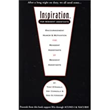 Inspiration for Resident Assistants by Anthony J. D'Angelo (2001-07-01)