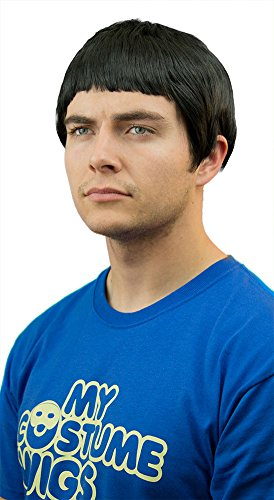 My Costume Wigs Men's Spock Wig (Black) One Size Fits (Spock Wig)