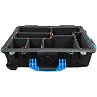 TrekPak Divider System to fit the Pelican 1510. Includes 2 Blue Handles & 2 Blue Latches.