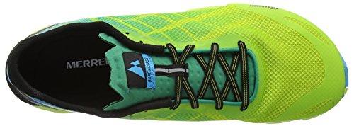Flex de Homme Vert Chaussures Cyan Access Acid Merrell Bare Fitness ZFqEwI
