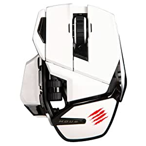 Mad Catz M.O.U.S. 9 - Ratón (Bluetooth, Juego, Rueda, Laser, PC, 4.0 LE)