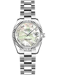 Lady-Datejust 26 Women's Watch w/Mother of Pearl Roman Numeral Dial (ref. 179174)