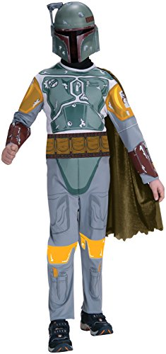 Star Wars Child's Boba Fett Costume, Small]()