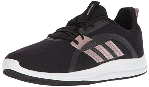 adidas Women's Element V Running Shoe, Core Black/Vapour Grey/White, 8 M US