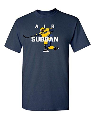 - The Silo NAVY Nashville P.K. Air Subban T-Shirt ADULT