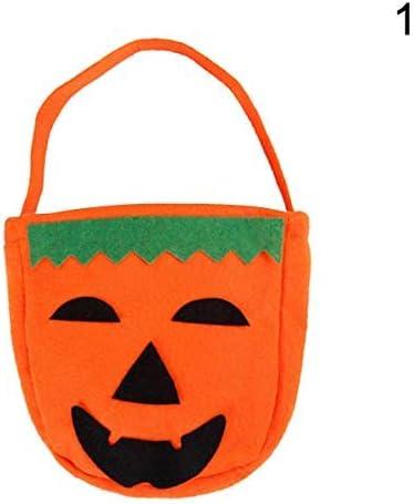 Aaffiry Bolsa de Caramelos de Calabaza de Halloween, Bolsa de ...