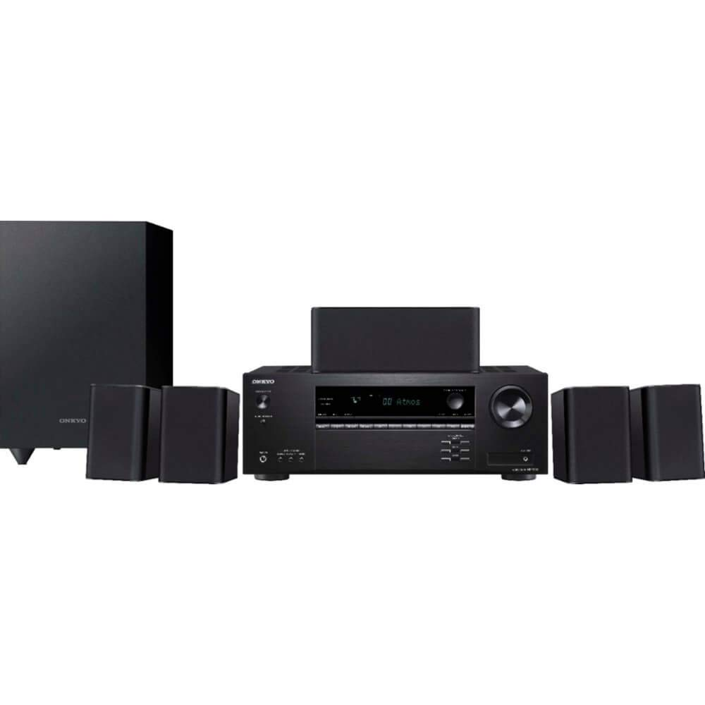 Onkyo HT-S3910 5.1-Ch Home Theater Receiver & Speaker Package (2019 Model)
