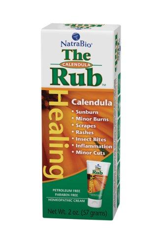 Natrabio The Calendula Rub, 2-Ounce (Pack of 2)