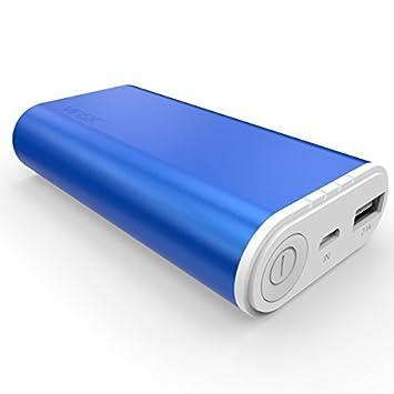 Batería Externa, VINSIC 6000mAh Portátil Power Bank, 5V 2.1A ...