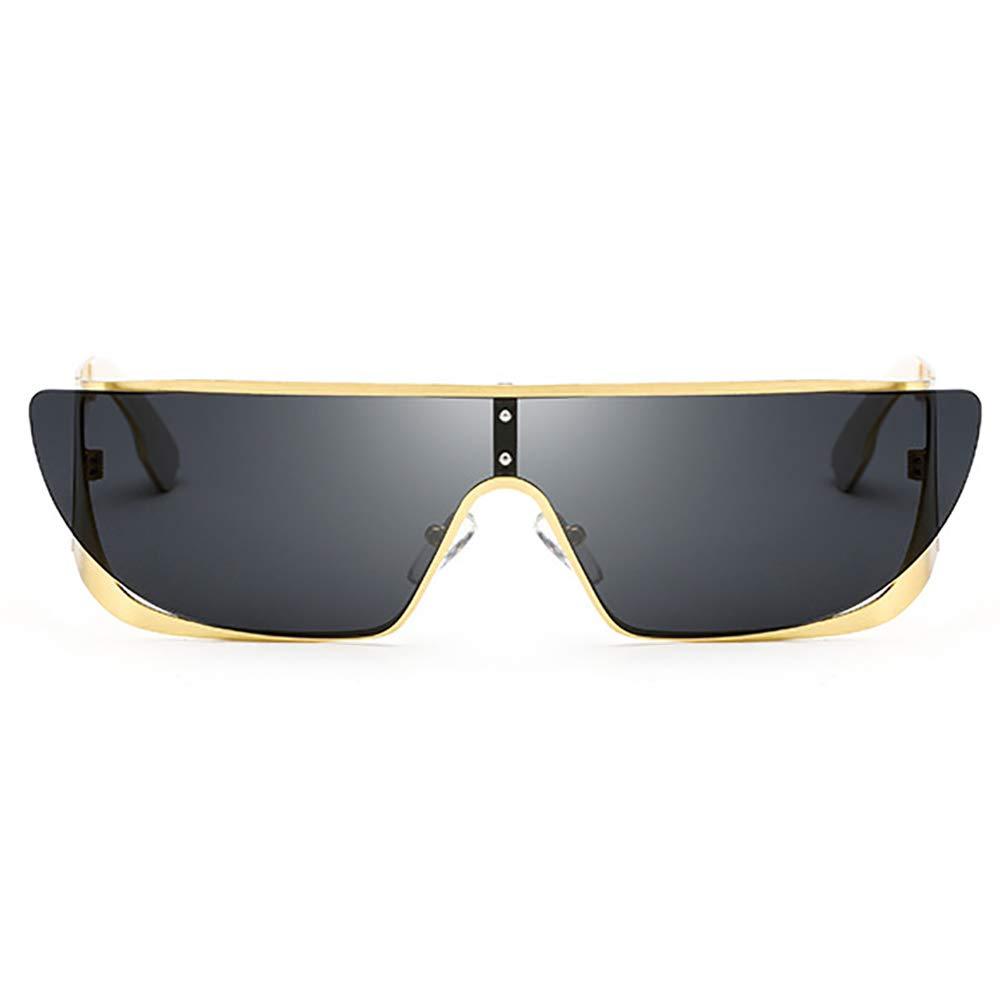 Randlose Cateye Cool Flat Top Sonnenbrille Futuristische Brille ...