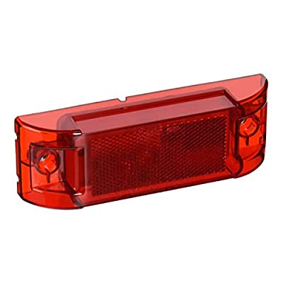 Grote 46072 Red Economy Sealed Clearance Marker Light: Automotive