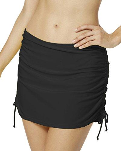 65cf47ac33 Seagoo Women Skirted Swim Bottoms Swimming Bikini Skirt Slimming Chlorine  Resistant Beachwear