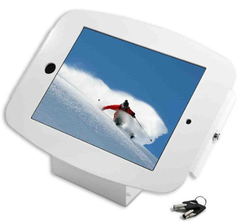 Maclocks iPad Space Kiosk, White (101W224SENW) by Compulocks