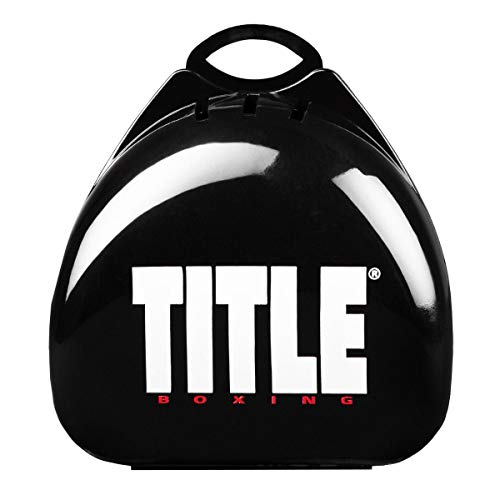 Title Boxing Deluxe Mouth Guard Case