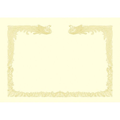 Kent cream paper 10-1487 A3 100 pieces for vertical writing without hawk mark OA diploma paper cloud (japan import) by Sasakawa