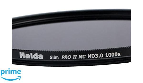 Haida Slim Gris Filtro Pro II MC (mehrschichtvergütet) ND1000 x 37 ...