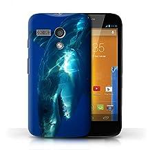 STUFF4 Phone Case / Cover for Motorola MOTO G (2013) / Great White Shark Design / Marine Wildlife Collection