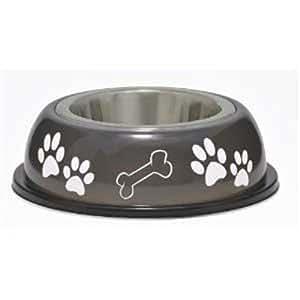 Loving Pets Dolce Dish Dog Bowl, Small, 1 Pint, Espresso